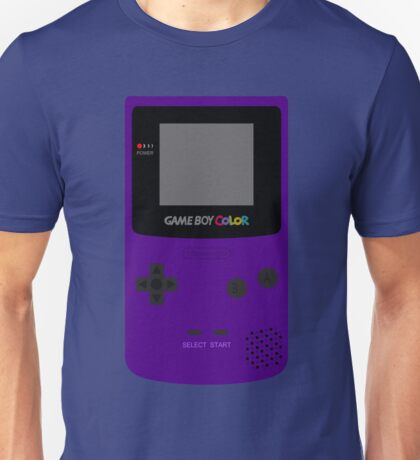 Game Boy Indigo Unisex T-Shirt