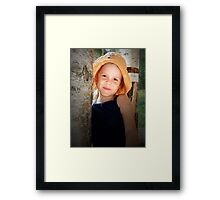 The Summer Princess Framed Print