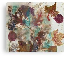 Fall Treasures Canvas Print