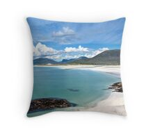 Isle of Harris (Luskentyre Beach) Throw Pillow