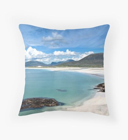 Isle of Harris (Luskentyre Beach) Throw Pillow