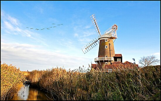 Cley Windmill Norfolk by ten2eight