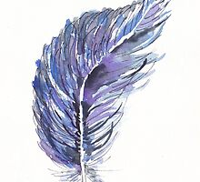 When a Feather Falls on Your Path... by Maree  Clarkson