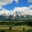 The Grand Tetons by Zolton