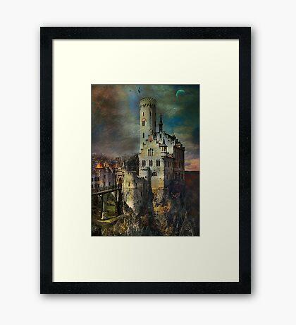 Lichtenstein Castle . Framed Print