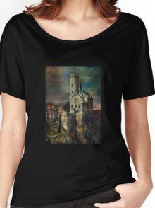 Lichtenstein Castle . Women's Relaxed Fit T-Shirt