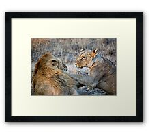 She Is Soooo Annoyed Framed Print