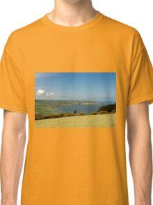 Robin Hood's Bay from Ravenscar Classic T-Shirt