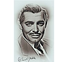 Clark Gable Photographic Print