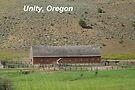Old Cattle Barn - Unity, Oregon by BettyEDuncan