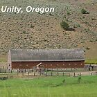 Old Cattle Barn - Unity, Oregon by © Betty E Duncan ~ Blue Mountain Blessings Photography