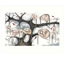 The Strangest Tree I Ever Did See...! Art Print