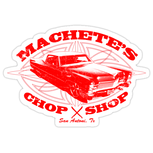 Machete Chop Shop by superiorgraphix