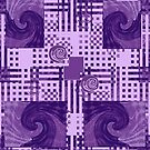 Passionately Purple Pattern by KazM