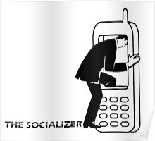 THE SOCIALIZER Poster