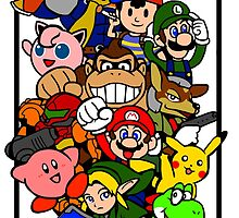 Super Smash Bros 64 Secret Characters by KewlZidane