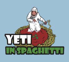 YETI IN SPAGHETTI T-Shirt