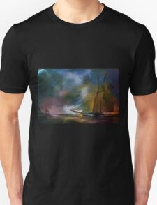 The meeting in the moonlight. T-Shirt