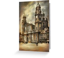 Theatine Church, Munich 1900 Greeting Card
