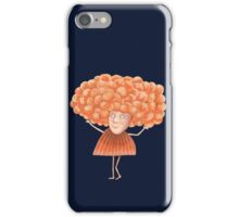 She had Fabulous Orange Hair iPhone Case/Skin