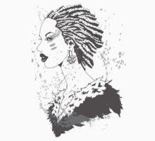 Female Warrior by TVMdesigns