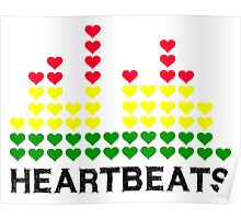 Heartbeats Equalizer Poster