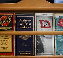 Original Train Brochures by Chris Chalk