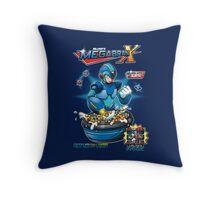 Dr.Light's Megabran X Throw Pillow