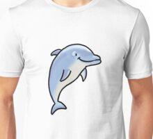Cute jumping dolphin sea animal Unisex T-Shirt