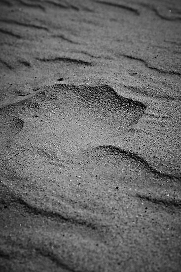 Sand formed by wind by henrikn