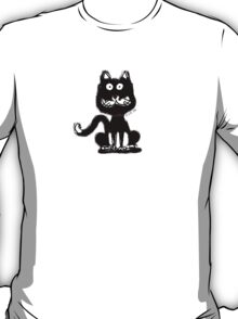 Strange black cat T-Shirt