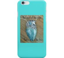 She's Mad but She's Magic There's No Lie in Her Fire Aquamarine Nymph-ish Unicorn iPhone Case/Skin