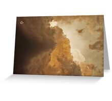 Kansas storm Greeting Card