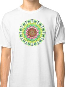 Lime Green Citrus Abstract Classic T-Shirt