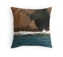 Fingal's Cave, Staffa. Throw Pillow