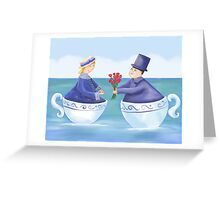 Love in a Teacup Greeting Card