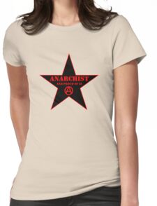 Anarchist and Proud of It Womens Fitted T-Shirt