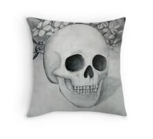 Mournful Passing Throw Pillow