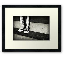 Knee High Framed Print