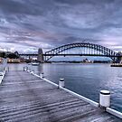 Harbour Views Wharf (Colour) by Jason Ruth