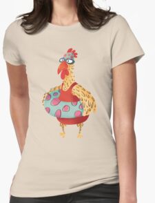 Sport chick Womens Fitted T-Shirt