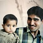 Proud Father in Delhi,India by Patricia127