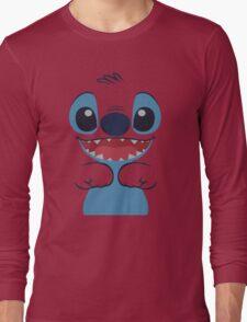 Ohana Means Family - Stitch Long Sleeve T-Shirt