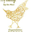 gilded bird I Fly Challenge Top 10 by KazM