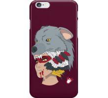Native American Wolf Headdress iPhone Case/Skin