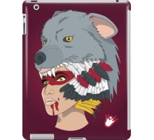 Native American Wolf Headdress iPad Case/Skin
