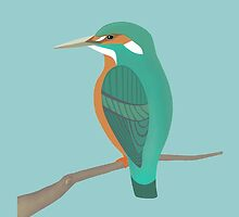 Kingfisher by HeliconHill