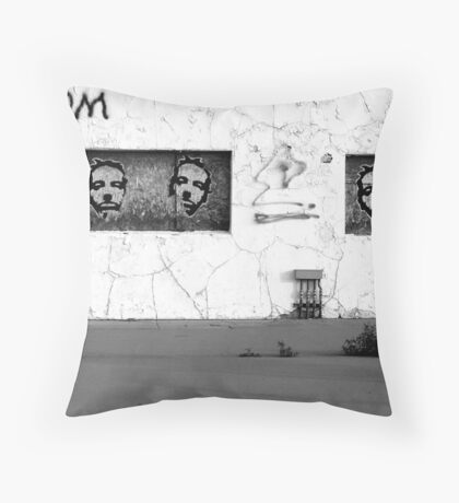 Faces.com Throw Pillow
