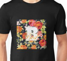 Shabby Chic Flowers Graphic Design Unisex T-Shirt