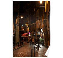 evening in the Latin Quarter Poster